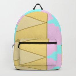 Geometric Ice Cream Pattern Backpack