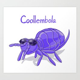 Coollembola Art Print