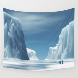 Glaciar Wall Tapestry