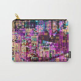 When Nostalgias Collide (or Remember the XX-ies?) (Recombinant Series) Carry-All Pouch
