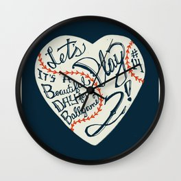 Mr. Cub Wall Clock