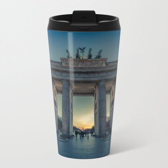 Brandenburger Tor Metal Travel Mug
