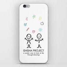 ISHISHA PROJECT by ISHISHA PROJECT iPhone Skin