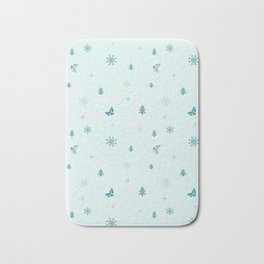 Christmas theme Bath Mat