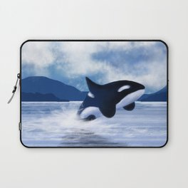 Whale Dancing Laptop Sleeve