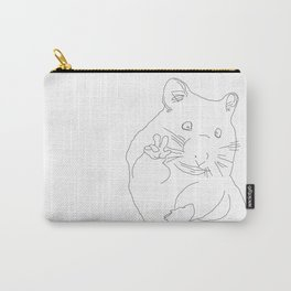 Peace Hamster Carry-All Pouch