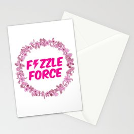 Fizzle Force Stationery Cards