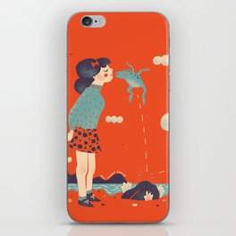 The Kiss iPhone Skin