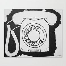 Phone.  Canvas Print