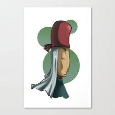 Snobby Priest Canvas Print