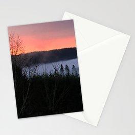 February Morning Sunrise Stationery Cards