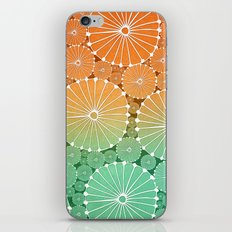 Abstract Floral Circles 7 iPhone & iPod Skin