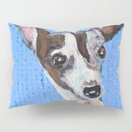 Mia the Italian Greyhound Dog Pillow Sham