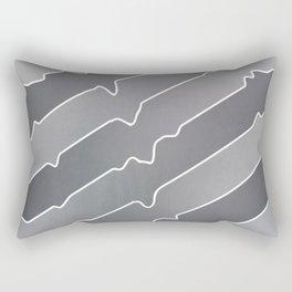 Chromium Peel Rectangular Pillow