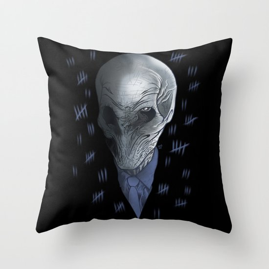 Silent 93 Throw Pillow