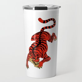 Tattoo Tiger Travel Mug