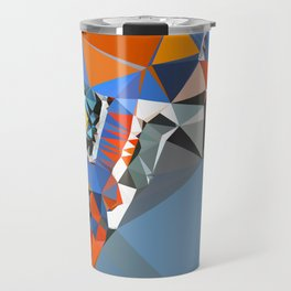 shape of my heart Travel Mug
