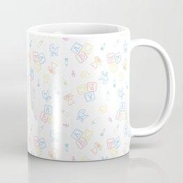 Baby Symbols Sketch - White Cloud Coffee Mug
