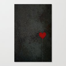 I heart balloons Canvas Print