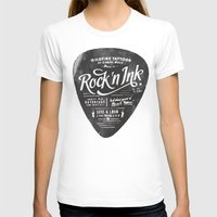 rock and roll T-shirts featuring Rock And Roll by ZenthDesigns