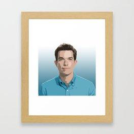 John Mulaney 8 Framed Art Print