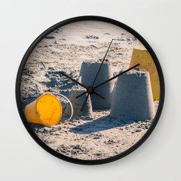 Sand Castle Wall Clock