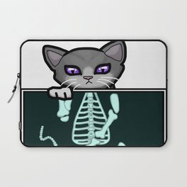 X-ray Cat Laptop Sleeve