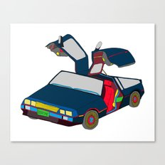 Cool Boys Like Flying Cars Canvas Print