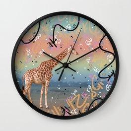 Great Little Giraffe Wall Clock