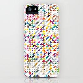 triangles iPhone Case