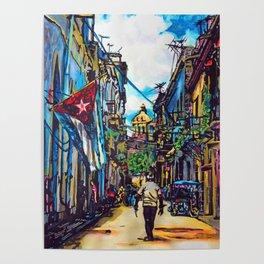 Havana, CUBA No.2   2015 Poster