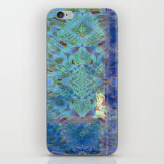 Bohemian Blues Abstract iPhone & iPod Skin