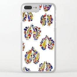 Breathe in Nature's Colors Clear iPhone Case