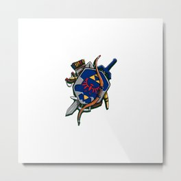 Well-Equipped Metal Print
