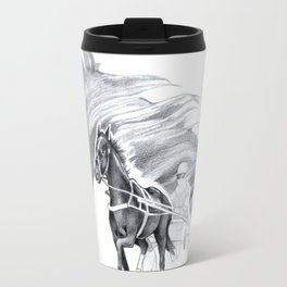 Trotting Up A Storm Travel Mug
