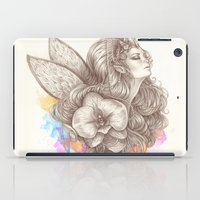 orchid iPad Cases featuring Orchid by Bea González