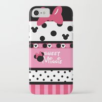 minnie iPhone & iPod Cases featuring Sweet Minnie  by Dino cogito