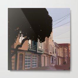 Sunset Houses, San Francisco  Metal Print