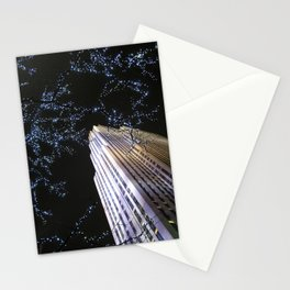 30 Rock at Night, NYC Stationery Cards