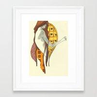 gustav klimt Framed Art Prints featuring gustav klimt by Lily Snodgrass
