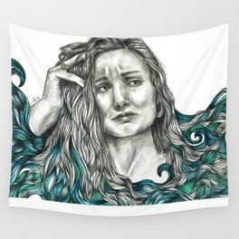 A sea of doubt Wall Tapestry