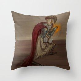 Cleric Throw Pillow