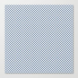 Riverside Polka Dots Canvas Print