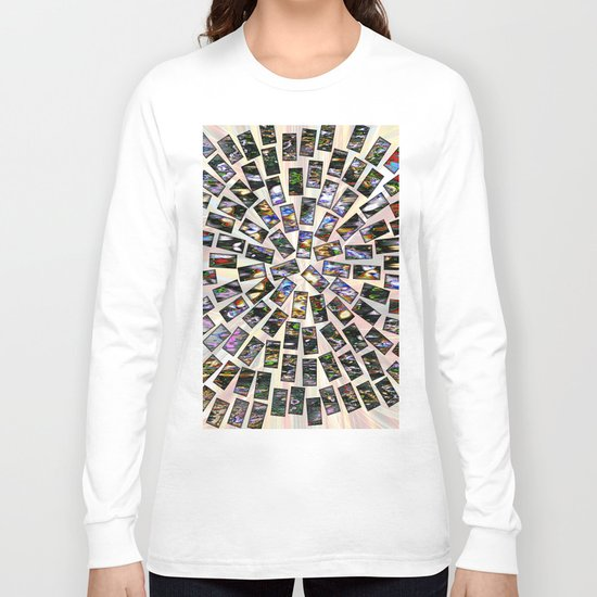 stone magnetism Long Sleeve T-shirt
