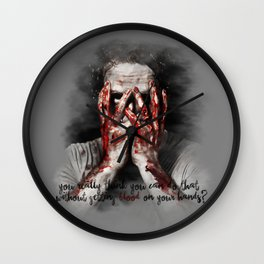 Rick Grimes from The Walking Dead Wall Clock