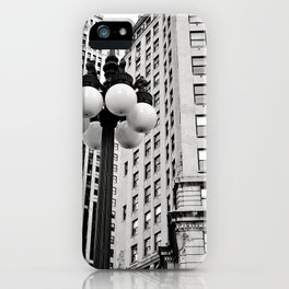 A Chicago Lamp Post iPhone Case