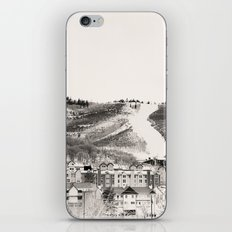 Ski Town iPhone & iPod Skin