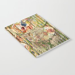 Jeune fille de joie usine (Factory girl joy) (2) Notebook