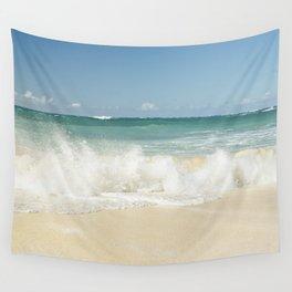 beach love shoreline serenity Wall Tapestry