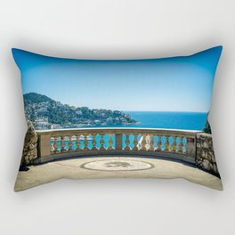 Chateau View in Nice Rectangular Pillow